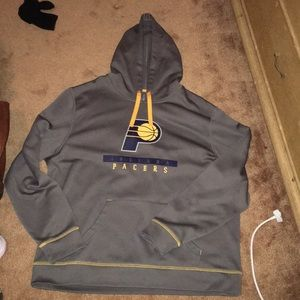 Mens XL Pacers NBA official brand hoodie